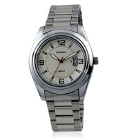 alloy quartz watch for men's