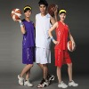 Low moq customized printed basketball clothing dry fit unisex basktball suit