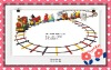 Amusement park train, kiddie track train, toy train JMQ-08301