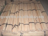 Natural wooden stick