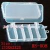 polystyrene clear plastic fishing tackle box