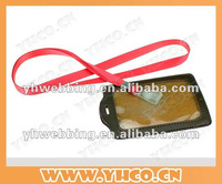 lanyard with ID holder