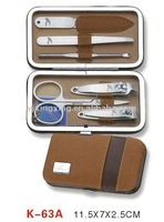 6pcs Manicure set in case