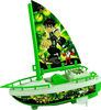 Mini Plastic kids toy sailing boat,Cheap,nice toy