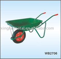 Industrial steel carry wheel barrow WB2706