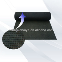 Rubber Mat Manufacture of Antislip Rubber flooring for Running tracks (BY-001)