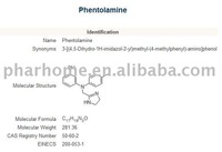 Phentolamine (It is used in the treatment of hypertension)
