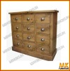 pure wood chest of drawers