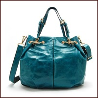 2013 new style fashion & vintage oversize ladies cowhide shoulder bag