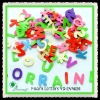 "Craft Foam Letters 1"" 10 colors more"
