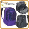Purple fashionable backpacks