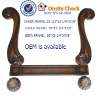 classical antique wood sofa frame(EFS-SR-9016)