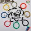 Resistance Bands set with steel carabiner hook