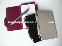 different kinds of colors for notebook with pen