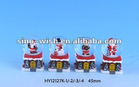45MM Dia Polyresin Christmas Shoe Shape snowball