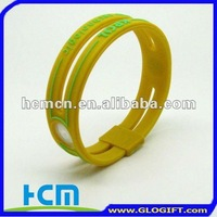 Newest Fashion Ion Power silicone wristband