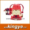 2012Lovely small package cloth art mobile phone bag