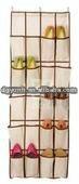 24-pocket folding no-woven hanging bag for bedroom