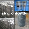 zinc chloride 98%powder packed in Galvanized drums