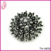 Lots Of Colorful Rhinestone Cystal Brooch For Evening Party