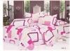 100% polyester 3pcs bedsheet set