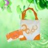 factory price logo print popular non-woven shopping cart bag