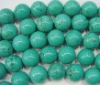 12mm round natural turquoise semi precious gemstones