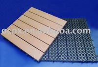Wood plastic composite outdoor decking,eco to environment