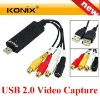 EZCAP USB Video capture USB2.0 USB Video Grabber with YPbPr
