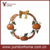 Halloween Pumpkins wreath round circle hanging wall decors