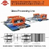 Automatic glass process machine