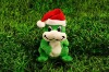 Plush & stuffed christmas animal frog toy