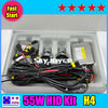 Fast bright H4 6000K hid xenon kit