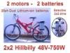 2x2 Dual motor 2 wheel drive kit