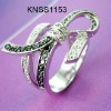 STERLING SILVER JEWELRY-CZ RING