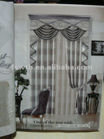 2012 new design fabric curtain,100% polyester, A919-3