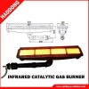 Infrared gas heater for textile drying (HD162)