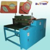 Hot melt adhesive coating machine for carpet anti-skidding measure.