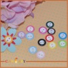 Fancy craft decorative plastic buttons for scrapbooking