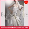 Charming tulle off white long lace trim wedding veil