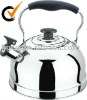 Desired whistling kettle