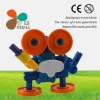 DIY Robot Promotional Fisher Price Building Block Toy