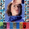 Custom Design NECK TUBE Outdoor Multi Functional Print Seemless Bandana Scarf! Best Discount Express Shippment Provide!