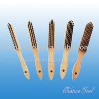 Steel wire brush / brass wire brush CH-AS033