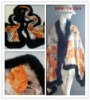 Pure Silk Shawl with FOX HAIR in NEW STYLE (HL30106)