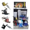 4pc tattoo machine+1pcs power supply (Retail or Wholesale) New style tattoo kit