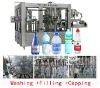 automatic drinking water rinser filler capper machine