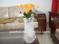 clear eco plastic foldable flower vase