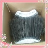 Spring steel wire brushes