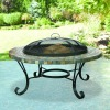 "Slate Fire Pit ( 34"" Round )"